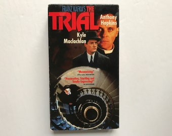 The Trial VHS Video Tape Movie Tested Working Preowned Franz Kafka Kyle Maclachlan Anthony Hopkins