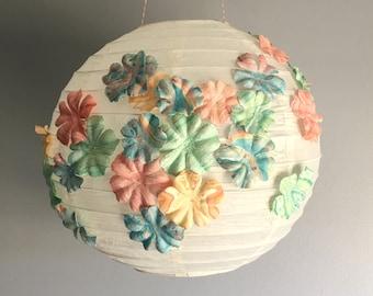 Floral Paper Lantern