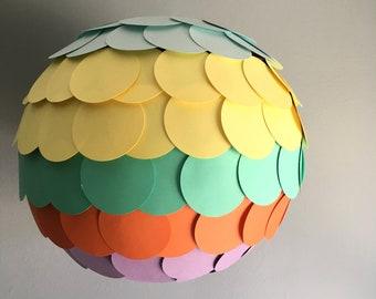 Spring Rainbow Paper Lantern
