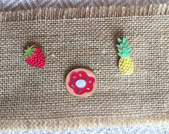 A fruity bunch of pins!