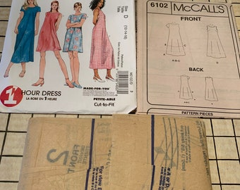 McCall/'s 6102 Misses/' Dresses     Sewing Pattern