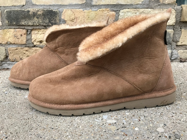 1f4bcc4bd0f CABELA'S Tan Shearling Lined Boots