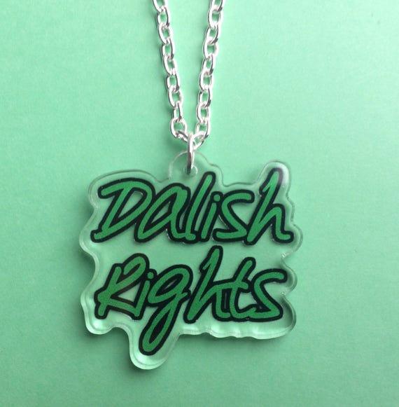 Dragon Age - Dalish Rights Acrylic Necklace - Merrill - Lavellan - Mahariel  - FREE SHIPPING