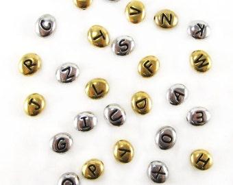 TierraCast Letter Beads
