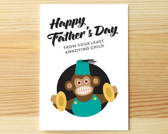 Father's Day Least Annoying Child