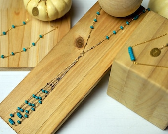 Turquoise Stackers (Sold Seperately)