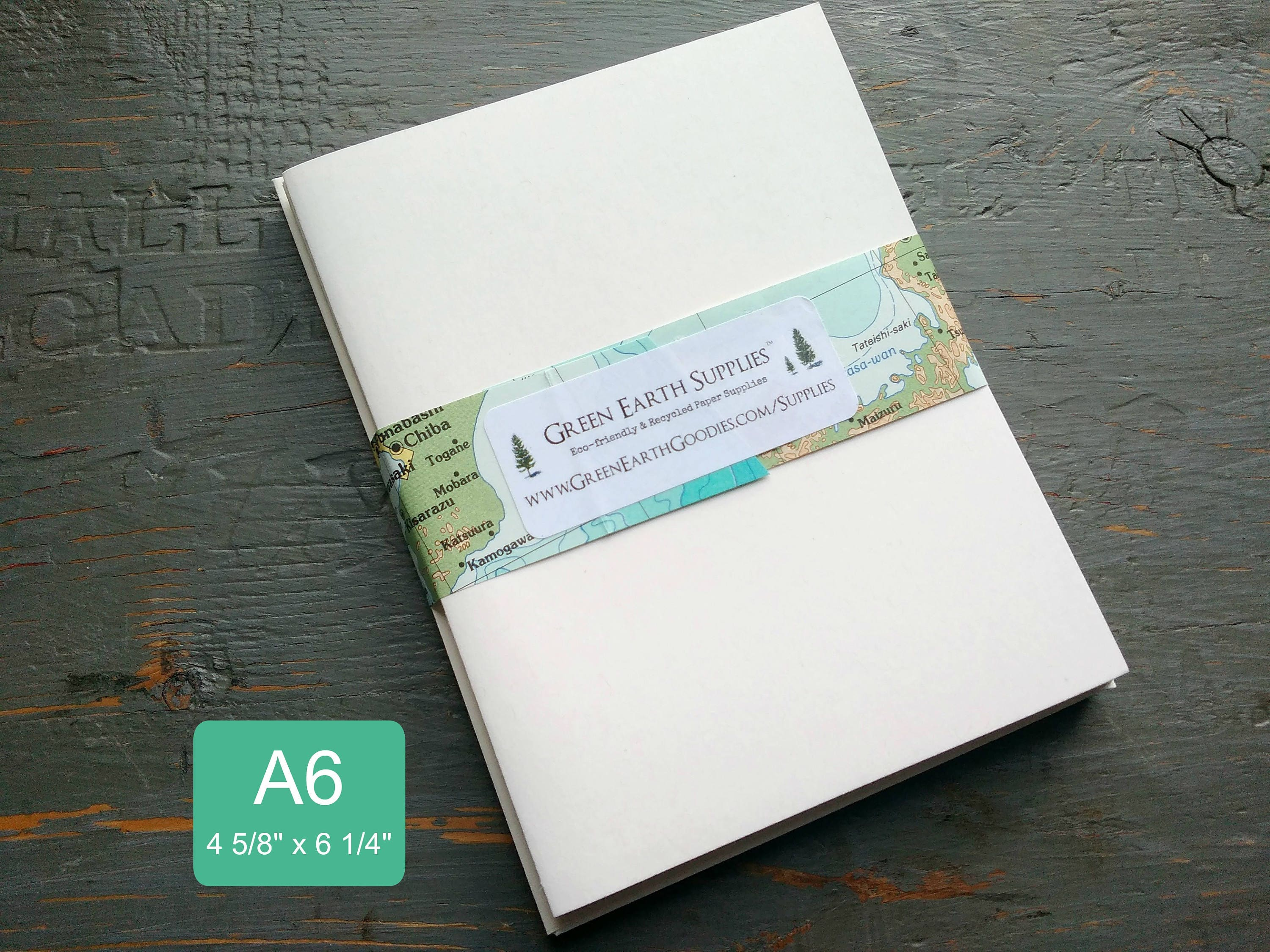 4 5//8 x 6 1//4 Pack of 500 A6 Folded Card