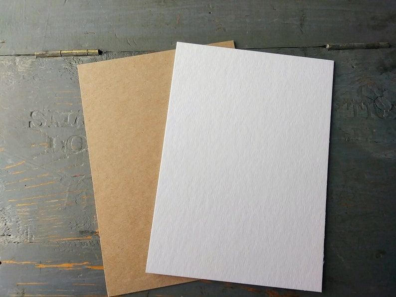 2.5x3.5 THICK ACEO blanks 50pt chipboard pieces ATC blanks image 0