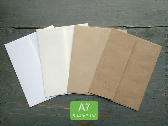 25 a7 or 5x7 envelopes 100 recycled invitationgreeting card m4hsunfo
