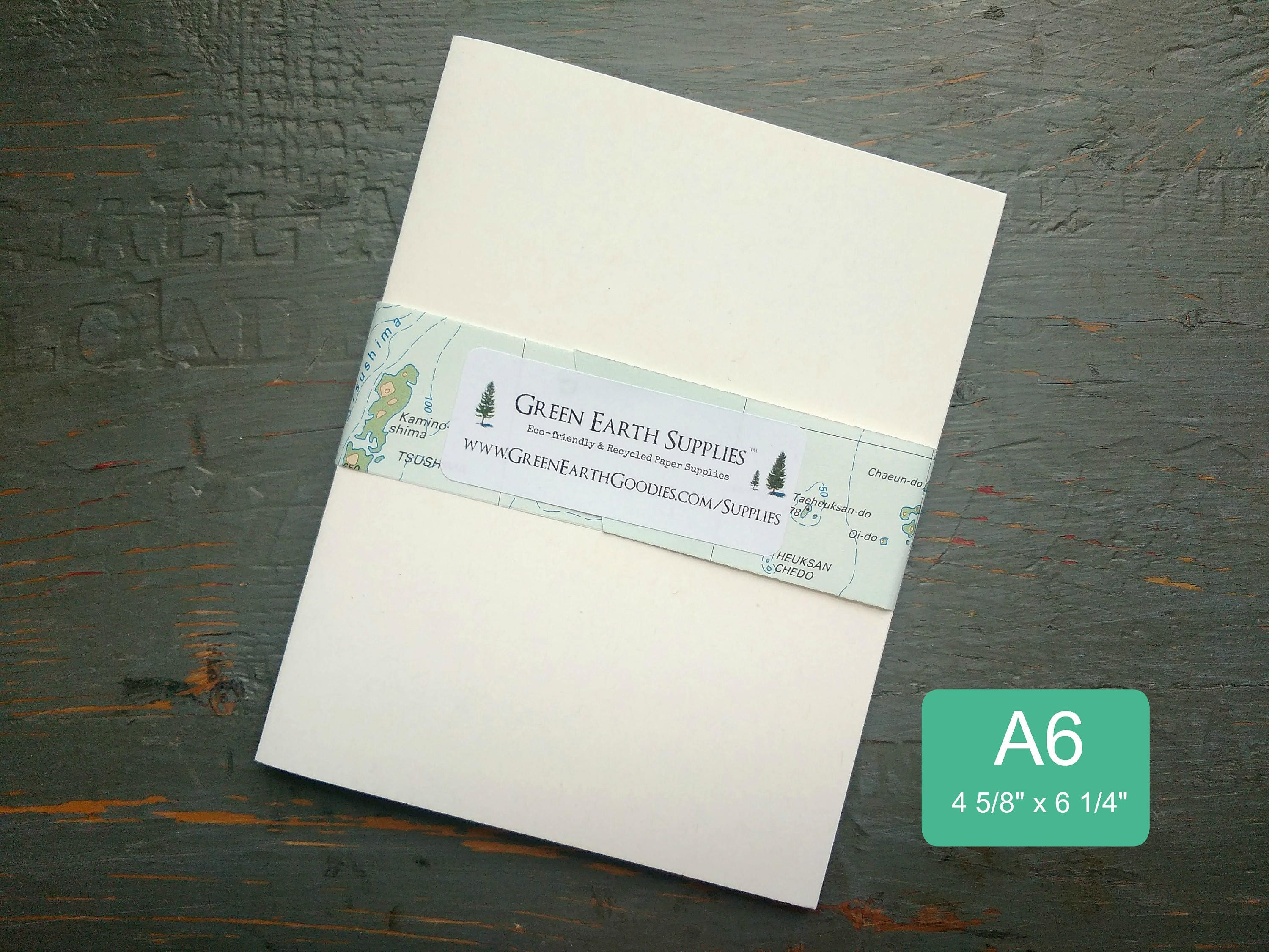 25 A6 Folded Cards 100 Recycled Blank Photogreeting Etsy