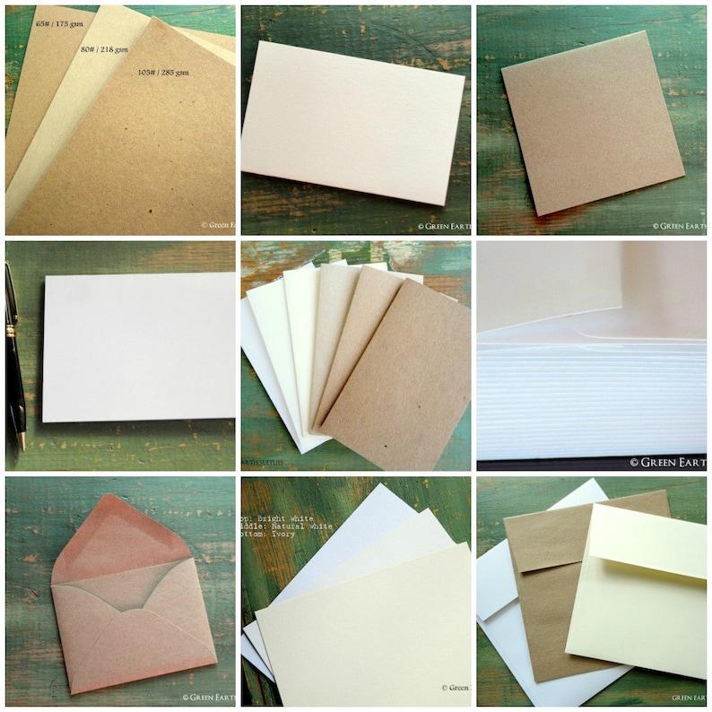 Sample Pack  GreenEarthSupplies  Eco Friendly  Card Sample image 0