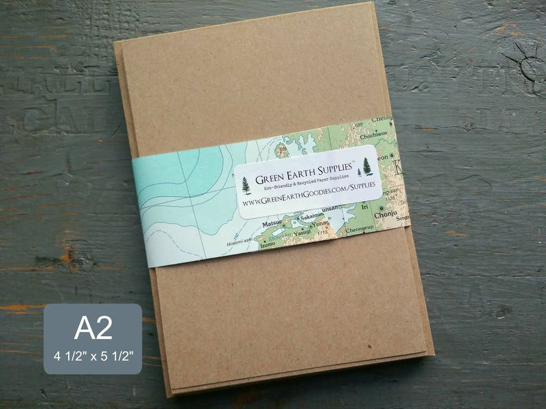 100 A2 FLAT Cards & Envelopes Blank Save the Date or RSVP image 0