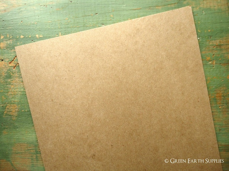 50 8x10 THICK 50pt chipboard sheets: thick chipboard for image 0