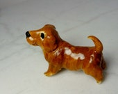 Dachshund Terrarium Miniature - Ceramic Dachshund Figurine - Pottery Dog - Dachshund Sculpture - Pottery Sculpture - Clay Dog Figurine