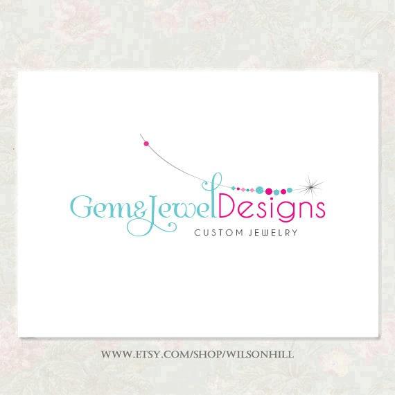 Premade Logo Boutique Logo Diseño joyas Logo para cualquier