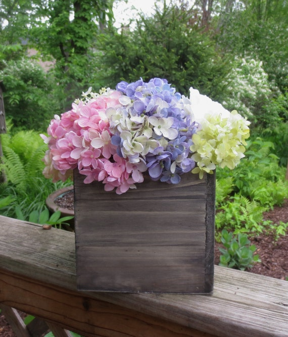 Items Similar To Large Wood Box For Your Wedding Decor