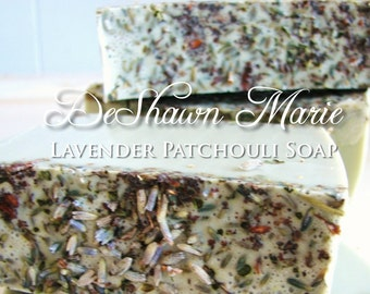 3.5 lb Soap Loaf -SOAP -  Lavender Patchouli Soap Loaf, Vegan Handmade Soap, Wholesale Soap Loaves, FREE SHIPPING
