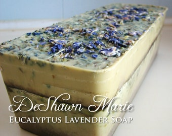 3.5 lb Soap Loaf -SOAP - . Eucalyptus Lavender Vegan Handmade Soap Loaf, Wholesale Soap Loaves, FREE SHIPPING