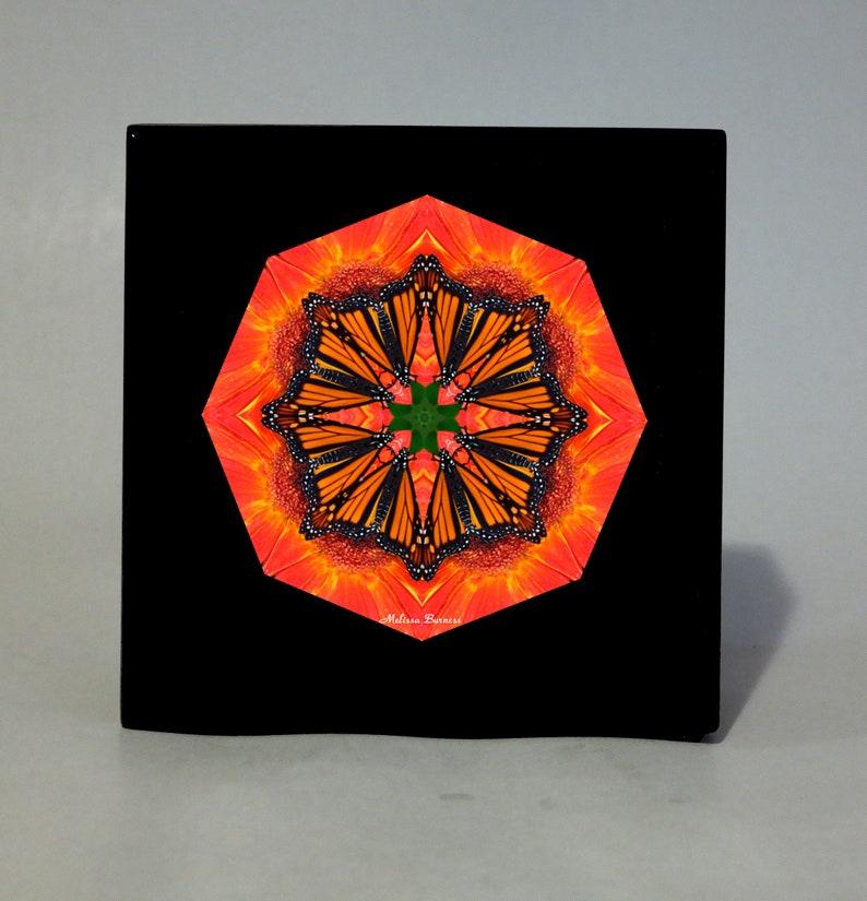 KEEPSAKE Box MEMORY Box MUSIC Box Wooden Box Personalized Box Jewelry Box Monarch Butterfly Sacred Geometry Unique Gifts Zen Mandala Art