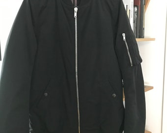 bd27a345f2428 Amazing Rick Owens DRKSHDW bomber jacket