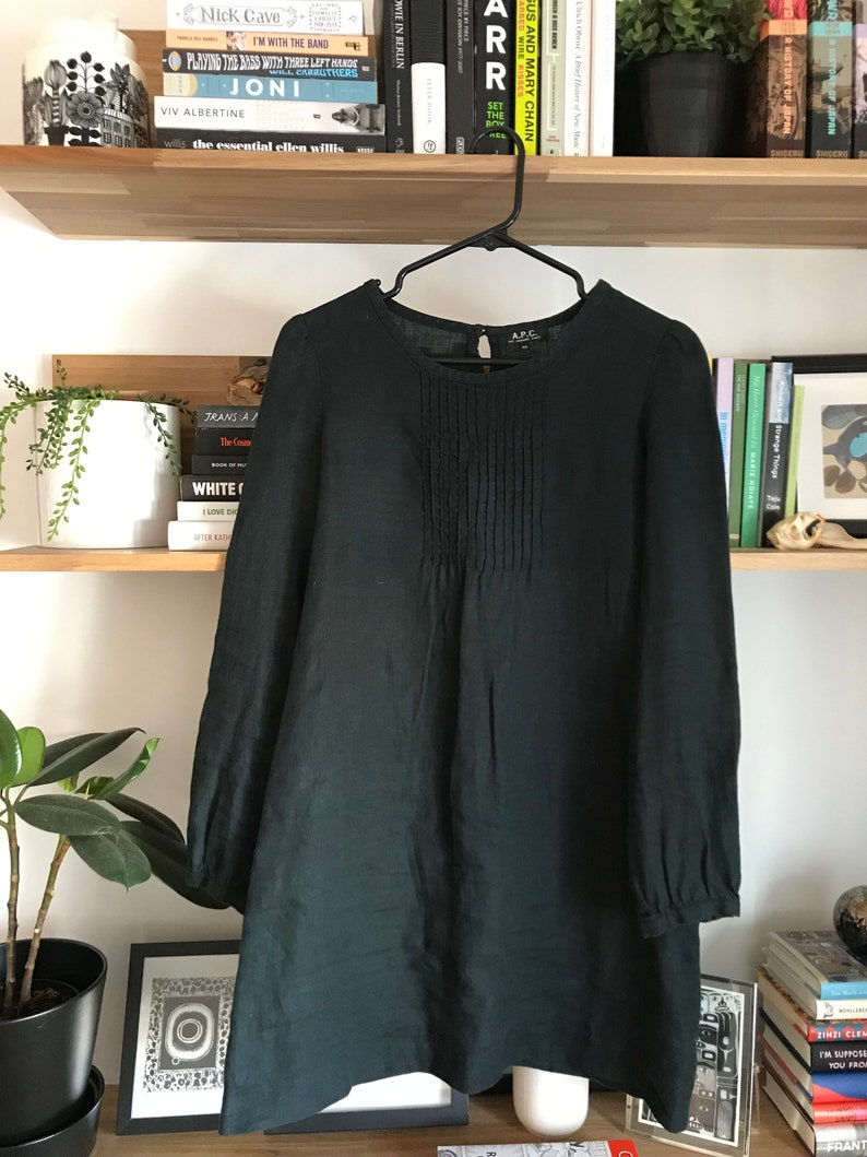 A.P.C linen tunic dress