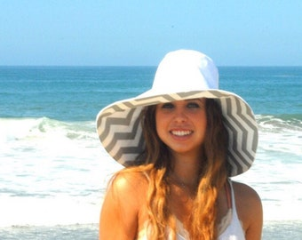 Big Brimmed Sun Hat, Pick color and size, Womens Wide Brim  Sun Hat, Summer Hat, Wide Brim Hat by  Freckles California
