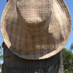 Womens sun hat Wide Brim Sunhat Hat for Large Heads FOLDABLE Weekend Getaway Spa Vacation Sun Hat Freckles California Wide Brimmed Sun Hat