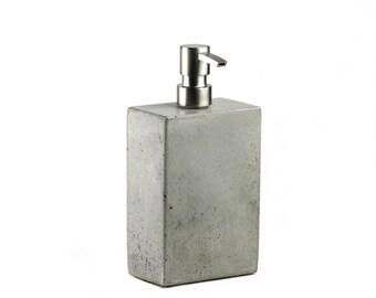 SALE! Concrete Soap Dispenser / Concrete Soap Pump