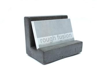 SALE: Concrete Business Card Holder