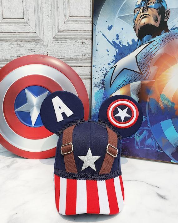 Captain America mickey ears