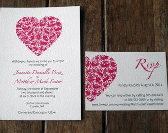 Modern Wedding Invitations, Folk Art Wedding Invitation, Mexican Wedding Invites, Destination Wedding Invitations, Otomi Wedding Invitations