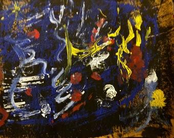 Night Time original painting by nita