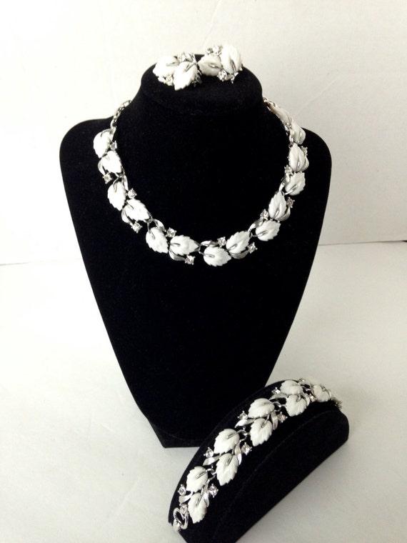 Vintage Original Lisner Parure Necklace Bracelet E