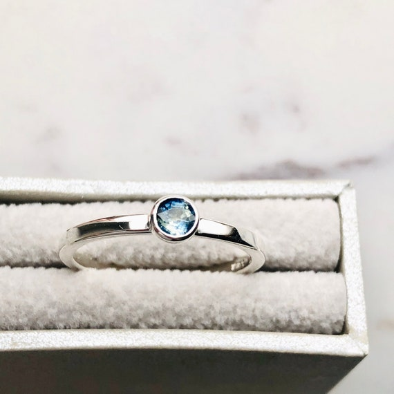 The Minimalist Sapphire Ring