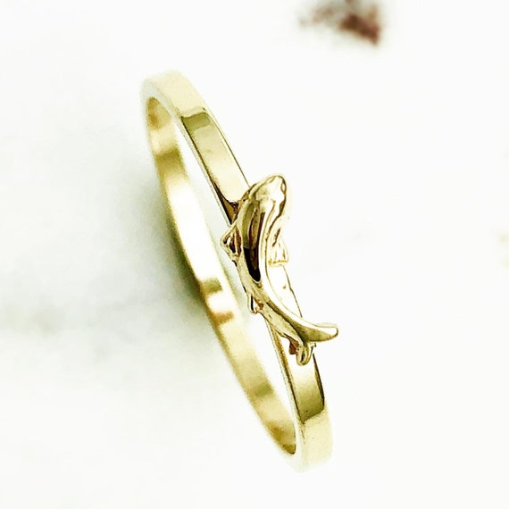 The Courageous Koi Fish Gold Band