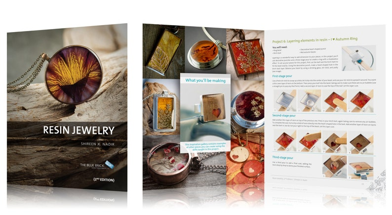 Resin Jewelry 2nd Edition  Make timeless keepsakes with image 0