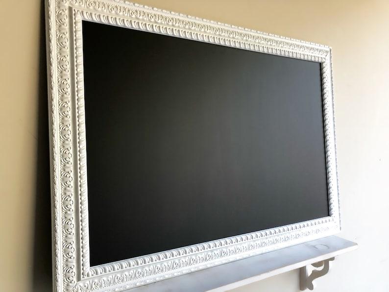 30x42 LARGE CHALKBOARD Magnetic Chalkboard White image 0