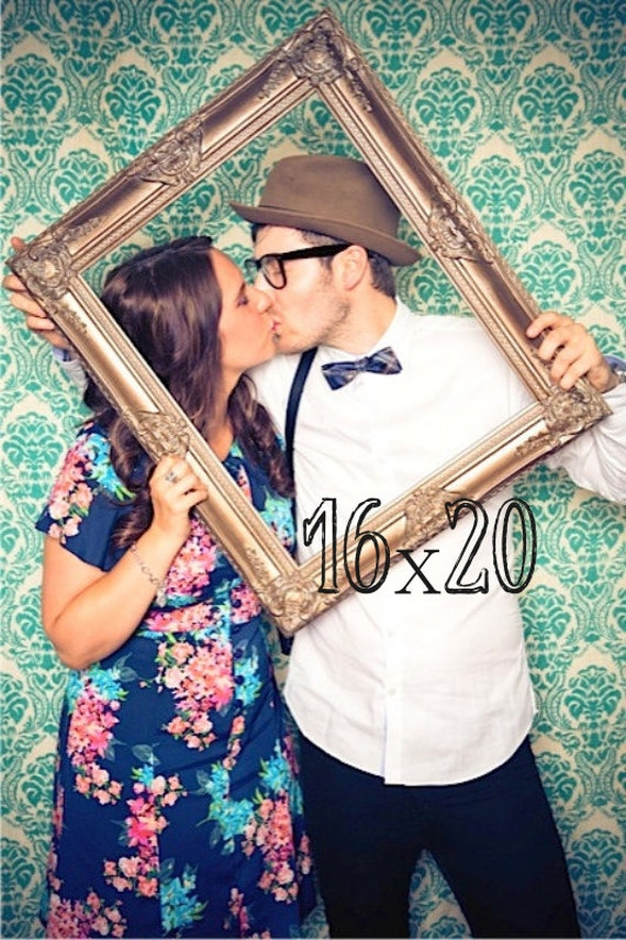 16x20 Picture Frame Wedding Photo Prop Vintage Empty Frame Etsy