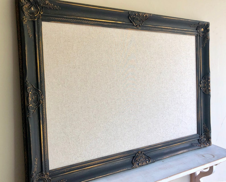 MEMO BOARD Graduation Gift Fabric Cork Board Fabric Magnet image 0