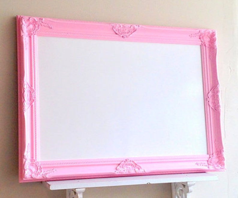 Pink Whiteboard Flipcharts/whiteboards