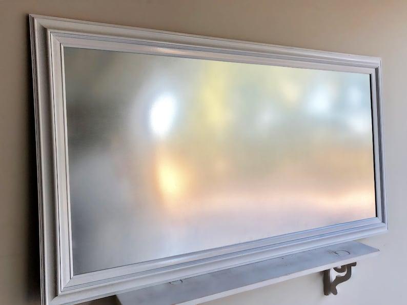 Steel DRY ERASE Board White Framed MAGNETIC Dry Erase Board image 0