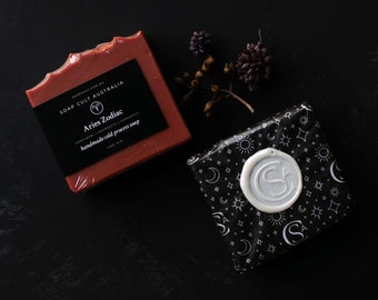 Aries Zodiac Soap   Sandalwood   Red Clay   Horoscope, Star Sign Gifts