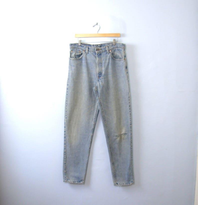 5848f5f4263ea Vintage 80er Jahre 550 Levis Jeans beunruhigt Jeans