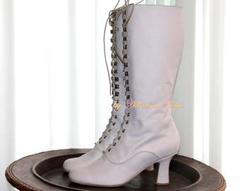 custom hand made Victorian boots di VictorianBoots su Etsy