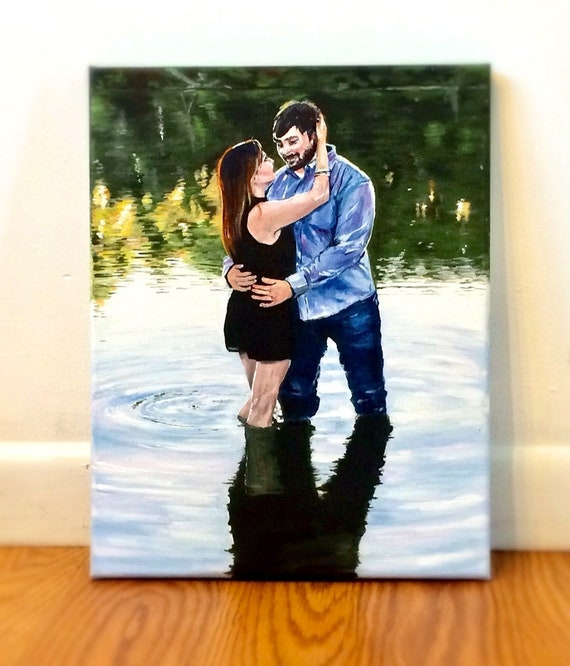 Original Acrylic Painting From Photo Gifts For Your Etsy