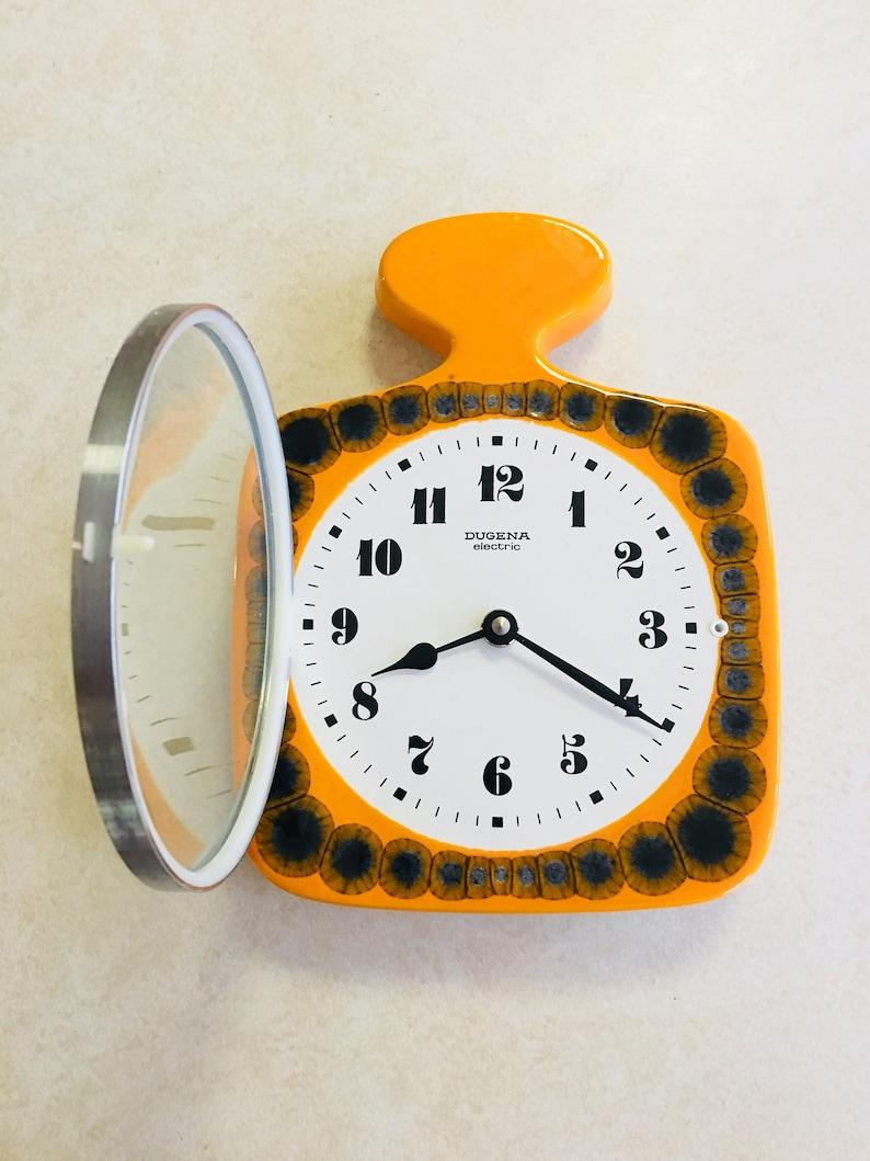 Awe Inspiring Vintage Wall Clock Fat Lava Wall Clock Junghans Clock Mid Century Wall Clock 70S Wall Clock Kitchen Clock Ceramic Wall Clock Download Free Architecture Designs Rallybritishbridgeorg