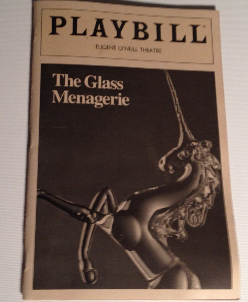 Playbill 1984 The Glass Menagerie Eugene O'Neill Theatre image 0