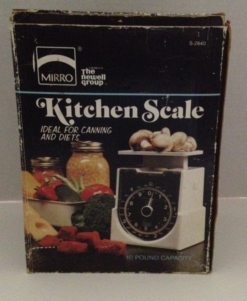 Mirro Vintage Kitchen Scale 10 Pound Capacity with Tray image 0