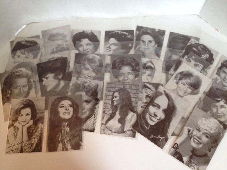 Vintage Billboard Penny Arcade Exhibit Cards Lot of 28 image 0