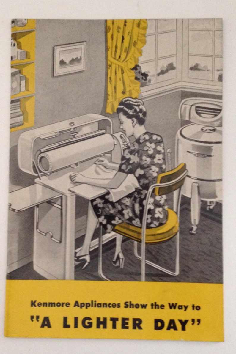 Vintage Sears Kenmore Book 1946 Refrigerator and Electric image 0